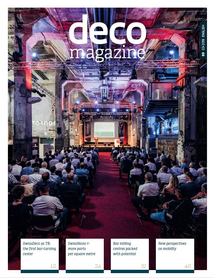 Cover page decomag #89